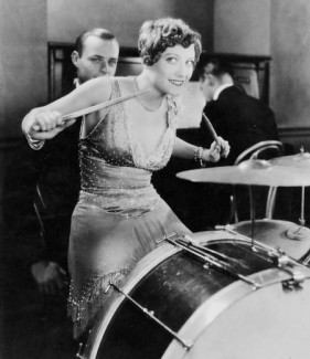 lady drum