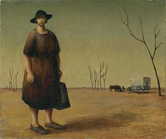 Drysdale_The_Drover's_Wife_1945